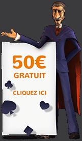 magicien d'un casino gratuit