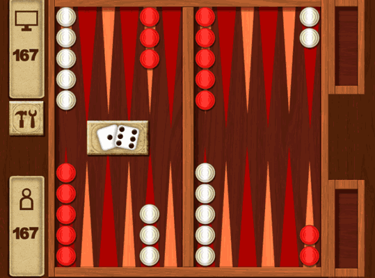 Backgammon On