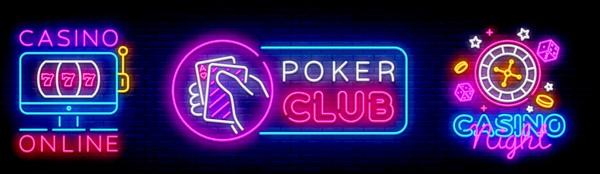 casino en ligne, panneaux lumineux