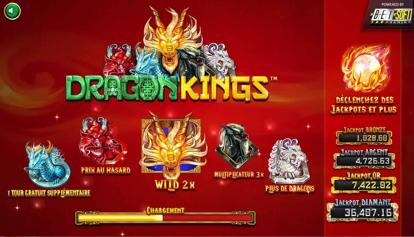 DragonKings - Jeu Betsoft