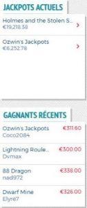 Lucky8 Jackpots