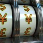 symbole Yen sur machine a sous au casino japon
