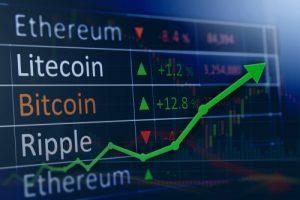 graphe cryptos-monnaies