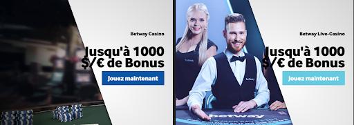 betway bonus casino