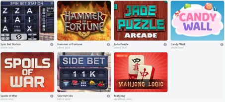 jeux sur bitcasino.io