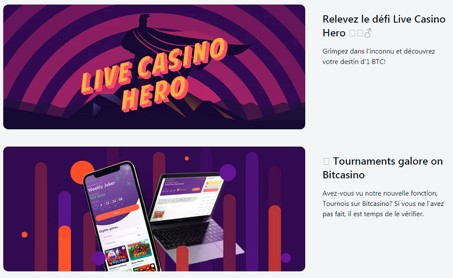 live casino hero sur bitcasino