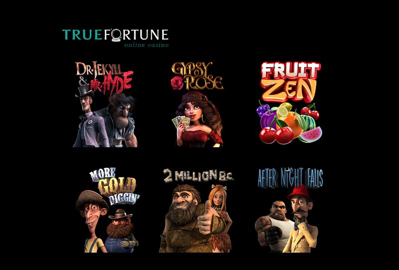 variantes de jeux true fortune caino online