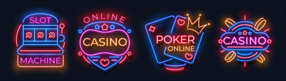 images neons casino en ligne poker online machine a sous