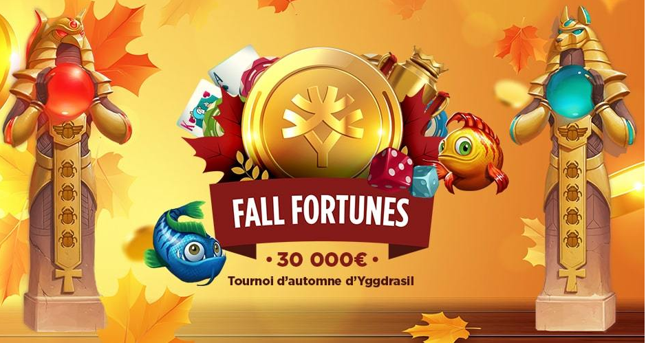 tournoi fall fortunes avec Jack 21 casino