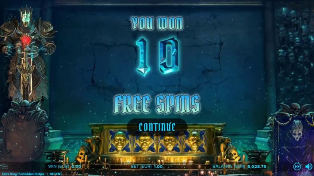 bonus 10 free spins