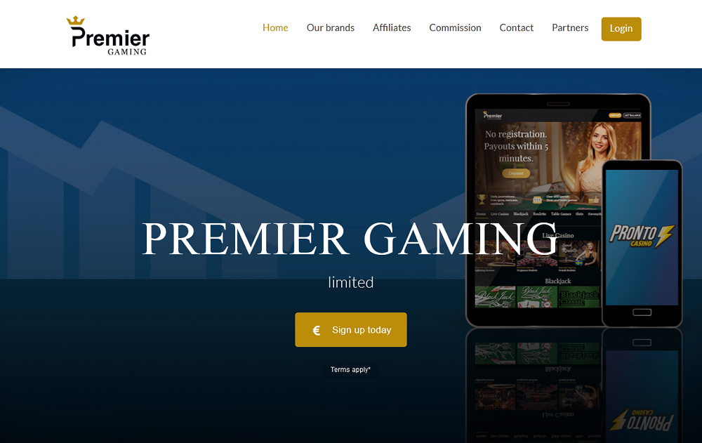 premier gaming limited slothino casino