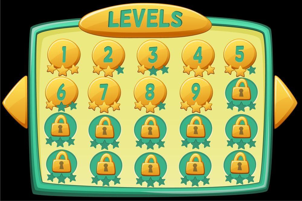 differents niveaux de jeux de casino