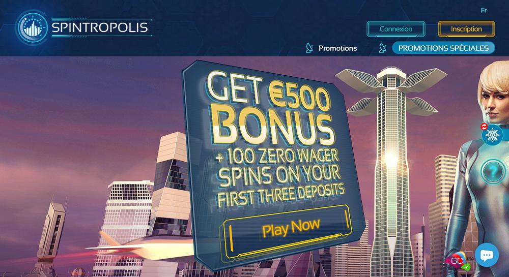 Spintropolis offres promotionnelles