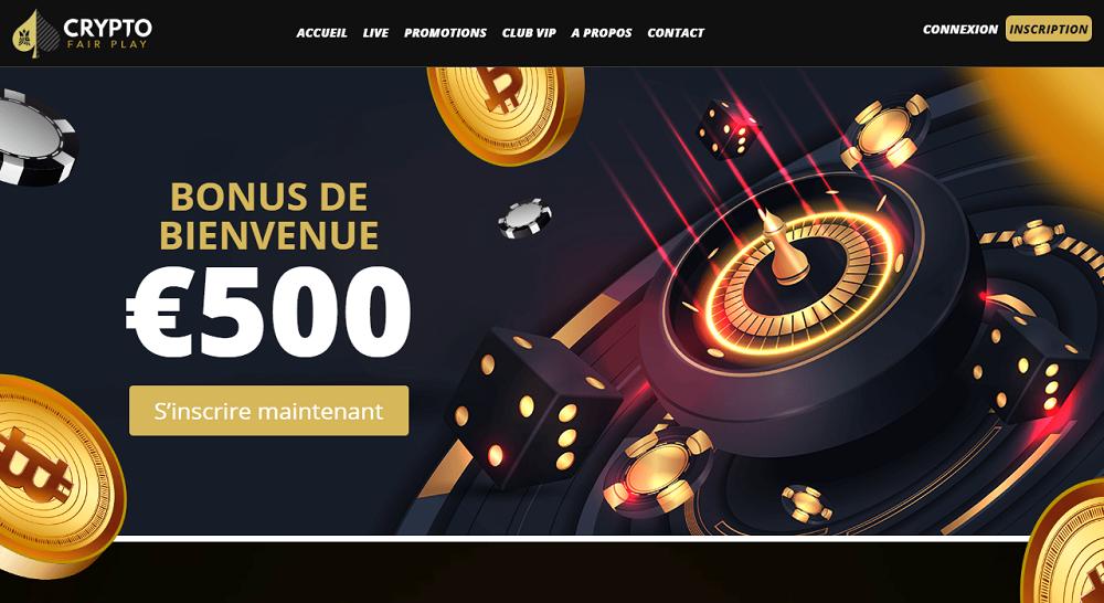 bonus de bienvenue 500 euros