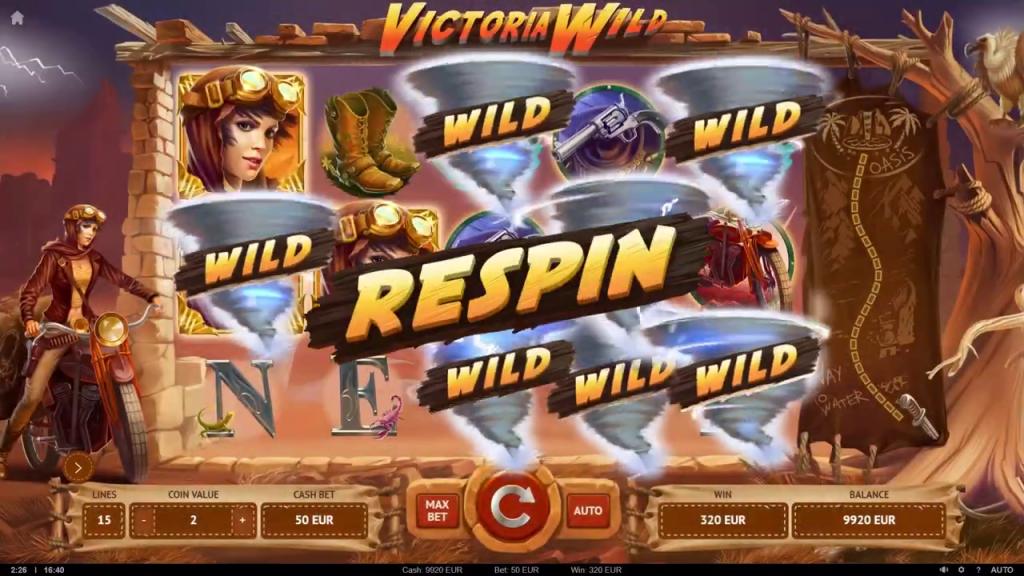 fonctions spéciales victoria wild